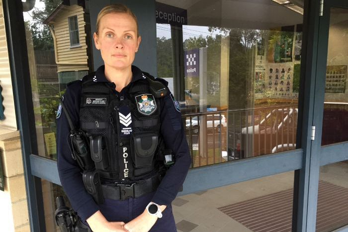 Queensland Police officer 'in awe' of community's help at road fatality pens emotional letter