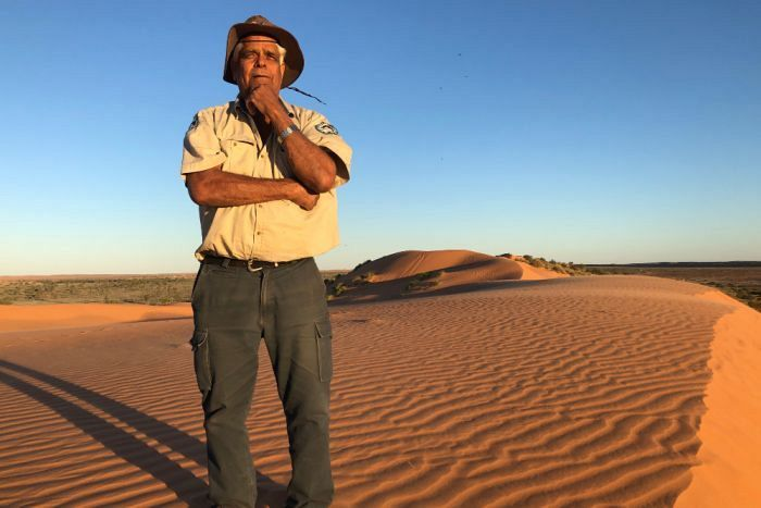 Indigenous ranger's quest to preserve Simpson Desert knowledge and 60,000-year-old history of his people