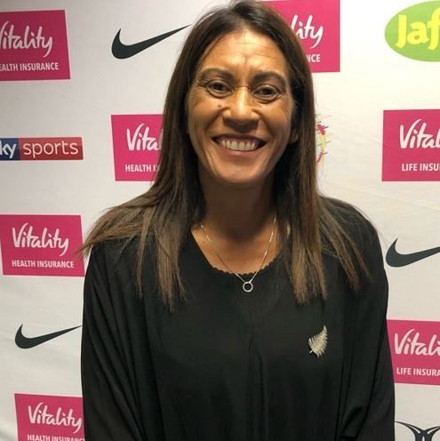 NZ head coach Noeline Taurua after winning the Nations Cup in London